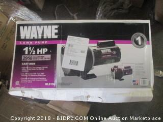 Wayne Lawn Pump