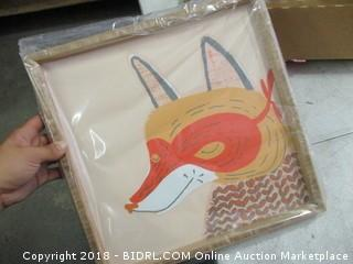 fox picture decor