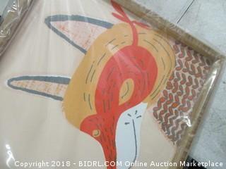 fox picture decor
