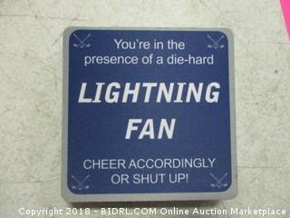 Tampa Bay Lightning coasters