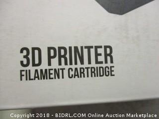 3D printer filament cartridge