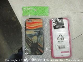 assorted smartphone cases