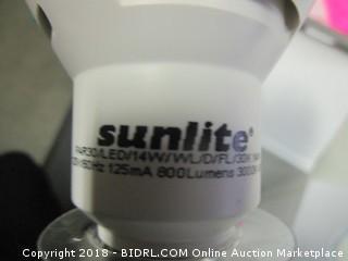 Sunlite reflector lightbulb