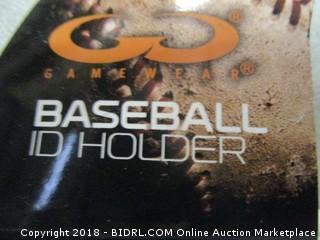 baseball ID holder
