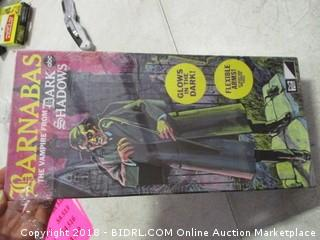 Glow In the Dark Vampire Halloween Decor - Factory Sealed
