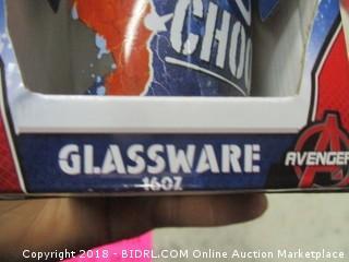16 oz Glassware