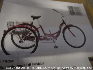 Schwinn Meridian Full Size Adult Tricycle 26 wheel size Bike Trike (Retail $288.00)
