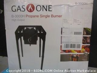 Gas One Propae Single Burner