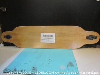 Moose drop Through Skateboard