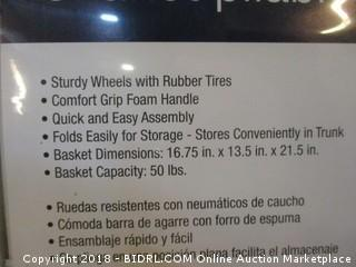 4 Wheel Jumbo Folding Cart