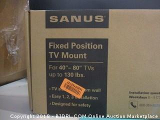 Banus Fixed Position TV Mount