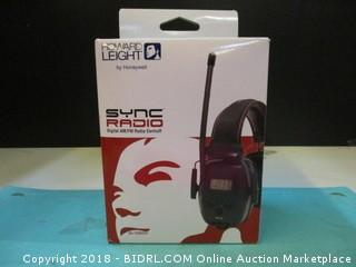 Howard Leight Sync Radio Digital AM/FM Radio Earmuff