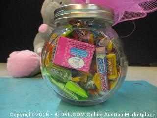 Its a Firl Elephant And Candy in jar
