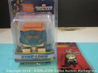 Tiki Tiki Totem Guardians of the Galaxy and Keychain