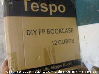 Tespo DIY PP Bookcase