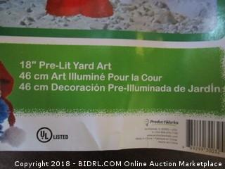 Elmo Pre Lit Yard Art