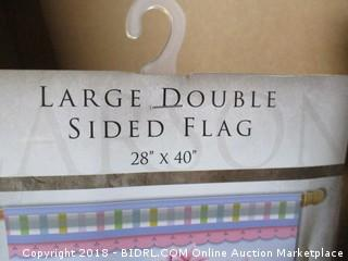 Large Double Sided Flag