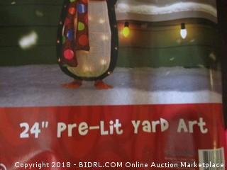 Pre Lit Yard Art