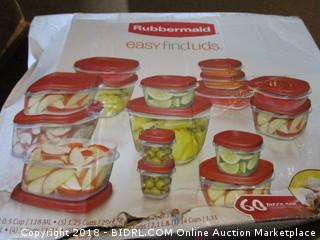 Rubbermaid Food Storage Containers