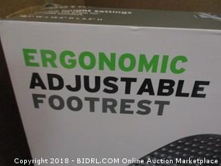 Ergonomic Adjustable Footrest