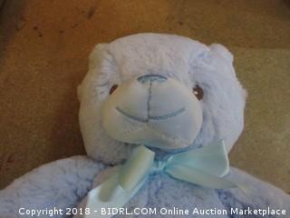 "Kelly Toy 10"" Baby Blue Plush Bear"
