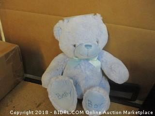 "Kelly Toy 10"" Baby Blue Plush Bear"