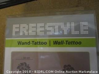 Freestyle  Wand Tattoo / Wall Tattoo