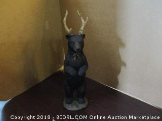 Black Bear w/antlers