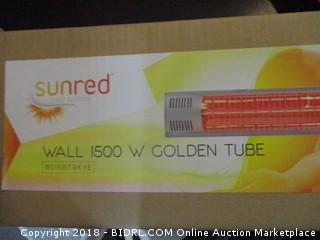 Sunred Wall 1500 W Golden tube