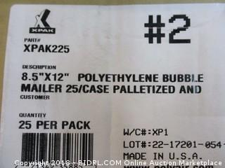 Polyethylene Bubble Mailers