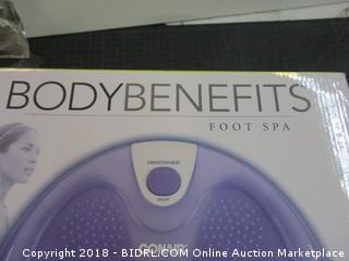 Body Benefits  Foot Spa