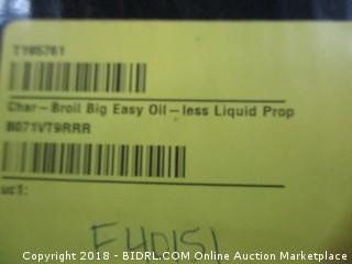 The Big Easy Tru-Infrared Oil Less Turkey Fryer