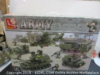 Army  building toy .