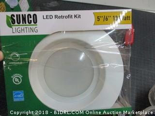 2-Sunco Lighting LED Retrofit Kit