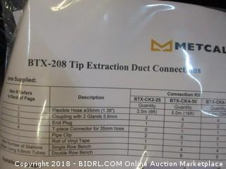 BTX-208 Tip Extraction Duct Conntions