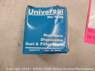 disposable dust and filter mask
