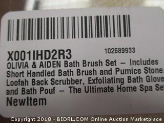 bath brush set