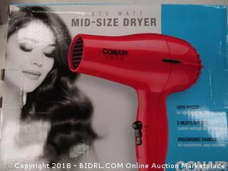 mid size hair dryer