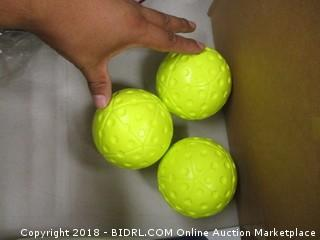 ATEC dimpled softballs
