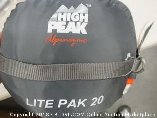 High Peak lite pak sleeping bag