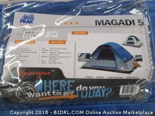 High Peak Magadi 5 tent