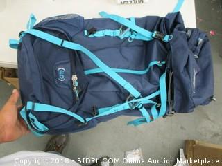 High Sierra hiking backpack