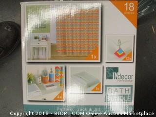 bathroom items set
