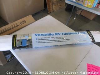 Versatile RV Clothes Line